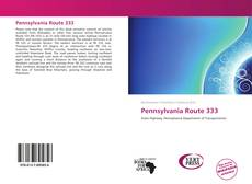 Bookcover of Pennsylvania Route 333