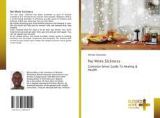 Buchcover von No More Sickness