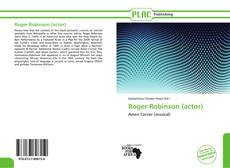 Bookcover of Roger Robinson (actor)