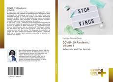 Capa do livro de COVID-19 Pandemic: Volume I