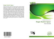 Portada del libro de Roger Ruskin Spear