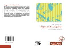 Borítókép a  Angewandte Linguistik - hoz