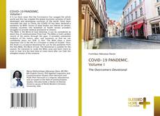 Capa do livro de COVID-19 PANDEMIC. Volume I