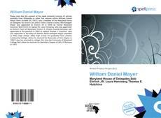 Buchcover von William Daniel Mayer