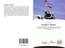 Bookcover of Joseph C. Burger