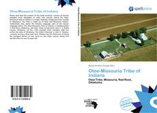 Otoe-Missouria Tribe of Indians kitap kapağı