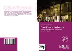 Capa do livro de Otoe County, Nebraska
