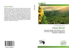 Capa do livro de Kwesi Ahwoi