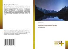 Portada del libro de Backing Origin Whenever
