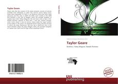 Bookcover of Taylor Geare