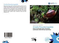 Buchcover von Crisilla Pseudocingulata