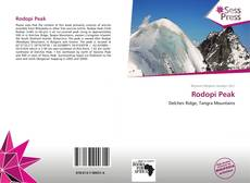 Bookcover of Rodopi Peak