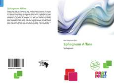 Sphagnum Affine的封面