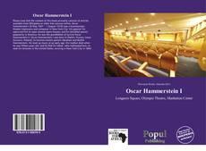 Bookcover of Oscar Hammerstein I