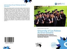 Bookcover of University of Las Palmas de Gran Canaria