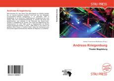 Bookcover of Andreas Kriegenburg