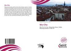 Portada del libro de Wo Che