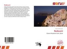 Bookcover of Rodovani