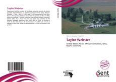Portada del libro de Taylor Webster