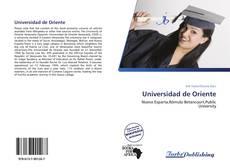 Bookcover of Universidad de Oriente