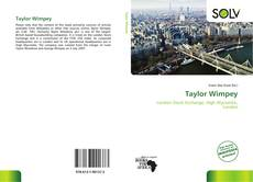 Bookcover of Taylor Wimpey