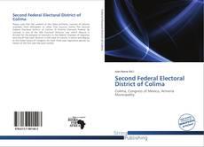Portada del libro de Second Federal Electoral District of Colima