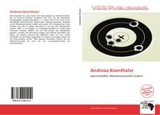 Andreas Kronthaler的封面