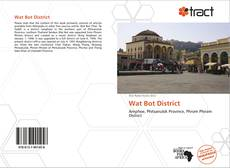 Capa do livro de Wat Bot District