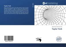 Bookcover of Taylor York