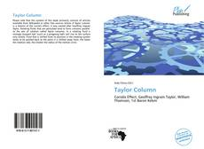 Bookcover of Taylor Column