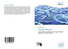 Copertina di Taylor Column