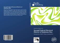 Buchcover von Second Federal Electoral District of Quintana Roo
