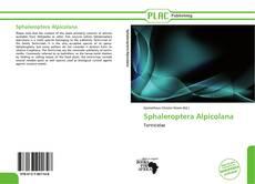 Borítókép a  Sphaleroptera Alpicolana - hoz