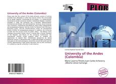 Bookcover of University of the Andes (Colombia)