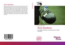 Capa do livro de Oscar Goodman