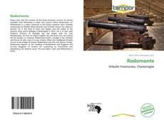 Couverture de Rodomonte