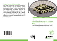 Bookcover of Second Franco-Dahomean War