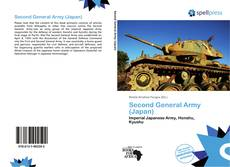 Buchcover von Second General Army (Japan)