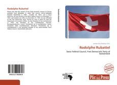Borítókép a  Rodolphe Rubattel - hoz