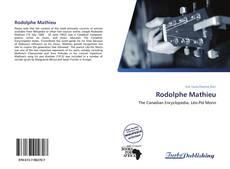 Capa do livro de Rodolphe Mathieu