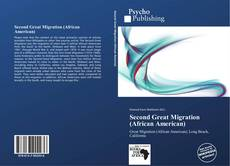 Second Great Migration (African American) kitap kapağı