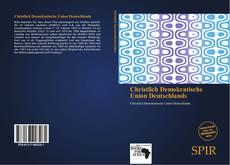 Bookcover of Christlich Demokratische Union Deutschlands