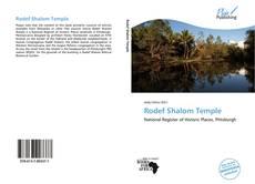 Copertina di Rodef Shalom Temple