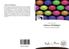 Couverture de Andreas Maislinger