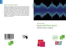 Copertina di Rode Hall Silver Band