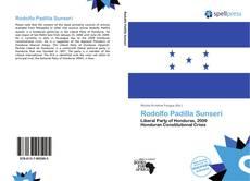Copertina di Rodolfo Padilla Sunseri