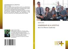 Buchcover von LEADERSHIP AS A LIFESTYLE