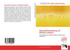 Capa do livro de Second Presidency of Rafael Caldera