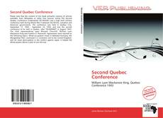 Bookcover of Second Quebec Conference