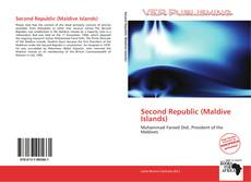 Capa do livro de Second Republic (Maldive Islands)
